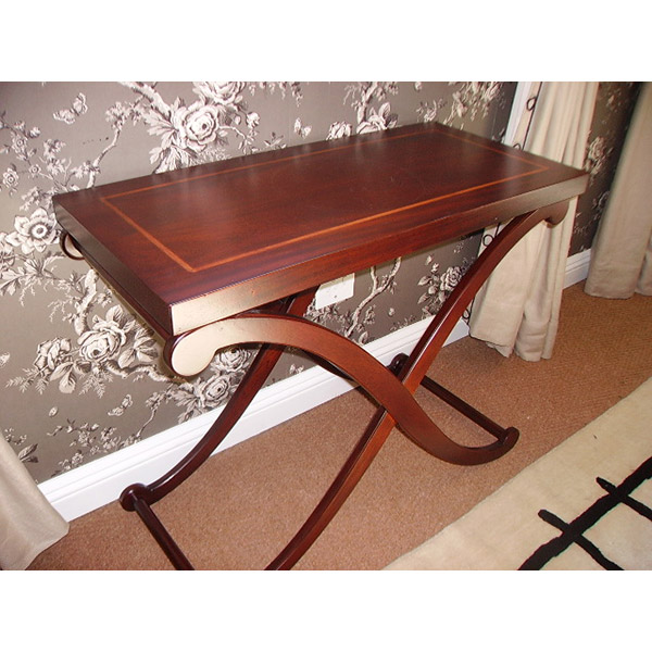Carriage Table - Wooden Top