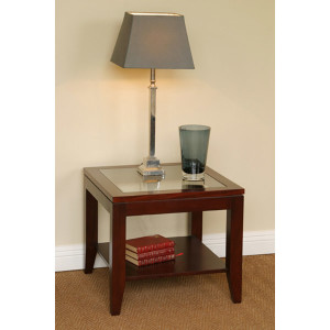 Tessa Lamp Table Glass Top