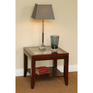 Tessa Lamp Table Glass Top