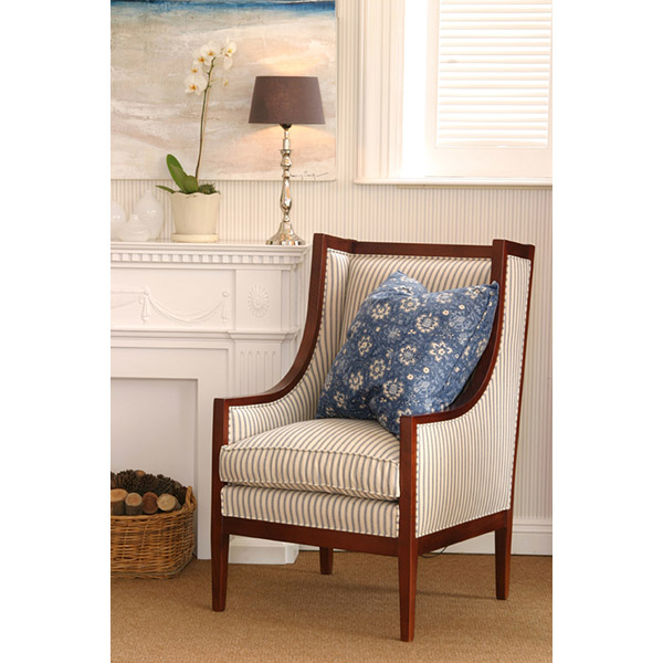 Tessa Wing Back Chair 1